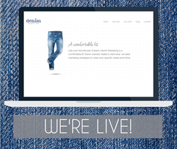 Denim Marketing Launches Website
