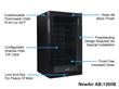 NewAir AB-1200B Black Beverage Refrigerator Features