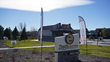 Exterior image of the new Ziggi's Coffee double-sided drive thru at the corner of 43rd St. and Taft Ave. in Loveland, Colo.