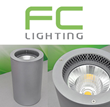 FC Lighting Introduces the Indoor FCC813i High Powered LED 8 Inch Cylinder Pendant and Wall Mount with a Unique Ventilation Cooling System