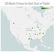 New Study Finds the 20 Best and Worst Cities to Pay Off Debt