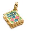 siddur, jewish prayer book, jewish charms, jewish jewelry, chanukah gifts