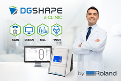d-CLINIC open architecture CAD/CAM software and milling solution for dentists