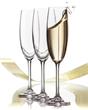 RÖD Wine Champagne Glasses