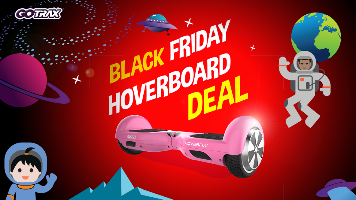 gotrax announces biggest black friday and cyber monday deals on hoverboards. Black Bedroom Furniture Sets. Home Design Ideas