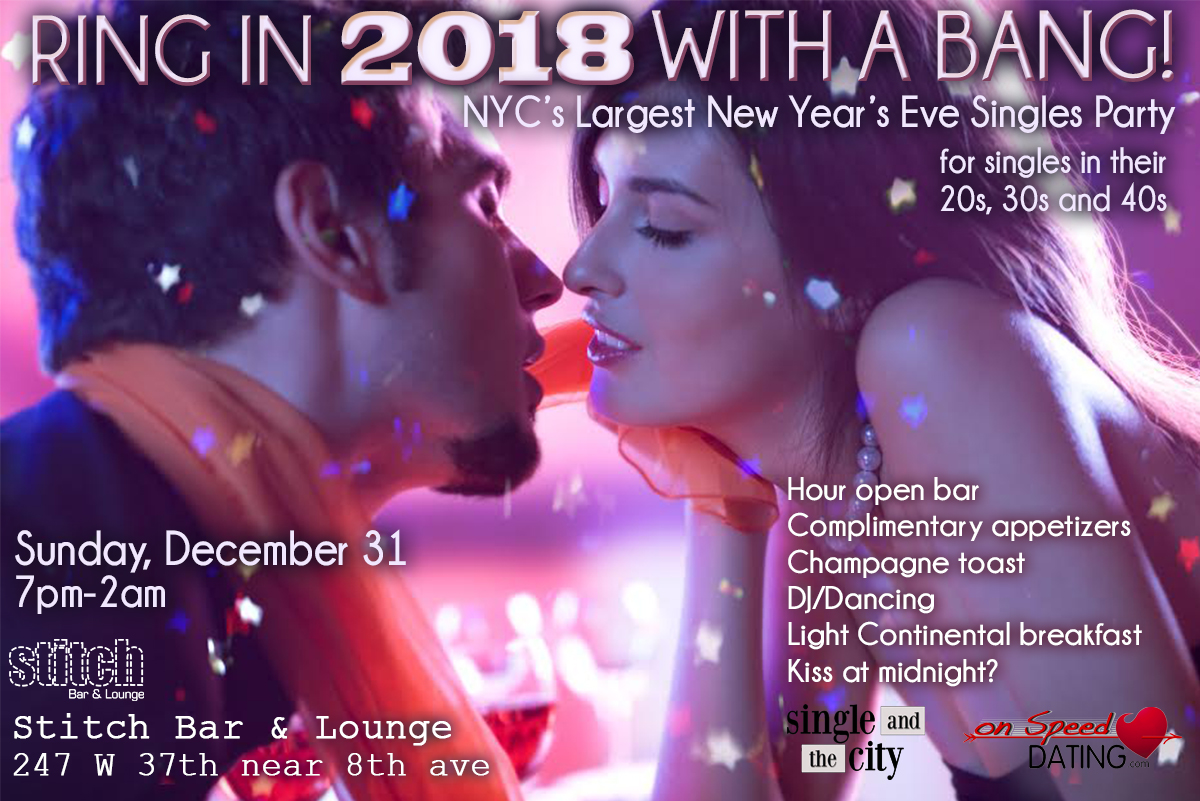New years eve speed dating nyc. online dating over 40 uk pounds.