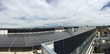 Panoramic view of solar photovoltaic system