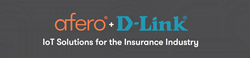 Afero and D-Link Logo for IoT Insurance Solution