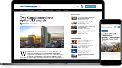 The Daily Commercial News (DCN) is the leader in delivering essential construction news, tender information and project leads to eastern Canada's construction marketplace.