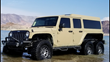 Las Vegas Can Now Add Luxury 6 Wheel Drive Autonomous Vehicle Manufacturing to Its List of Larger than Life Landmarks with K6 Jeeps