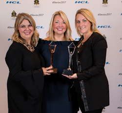 allegis global solutions, stevie awards, women in business