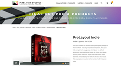 ProLayout Indie - Pixel Film Plugins - Final Cut Pro X Effects