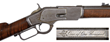 "Winchester Model 1873 ""1 of 1,000"" Lever Action Rifle, Sold For $103,500."