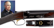 20 Gauge Winchester Model 21 Factory Custom Finished and Gold Inlaid Shotgun Presented to Five Star General and First Chairman of the Joint Chiefs of Staff Omar N. Bradley, Sold For $115,000.