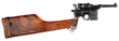 Factory Engraved Postwar Mauser C96 with Special Grips and Matching Burl Wood Stock, Sold For $51,750.
