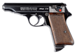 Experimental Walther PP with Unique Mechanism and Semi-Shrouded/Solid Hammer, Sold For $31,625.