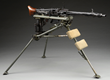 Original German WWII MG-42 Machine Gun with Tripod, Sold for Auction World Record Price of $74,750.