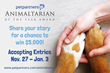 The 4th Annual Animaltarian of the Year Award Contest Kicks Off From PetPartners, Inc.