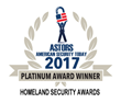 Metrasens Honored as Platinum Award Winner in ASTORS Homeland Security Awards