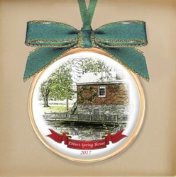 Enjoy Heritage Christmas in Greencastle and remember the visit with the 2017 ornament.