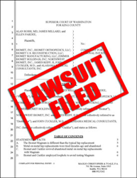 Biomet Magnum hip replacement lawsuit filed in Washington state