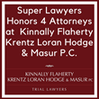 Four Attorneys from Aurora Law Firm Named to Super Lawyers 2017 List of Best Attorneys in Illinois