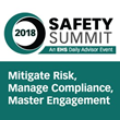 BLR and EHS Daily Advisor Safety Summit 2018 Returns April 16–18, Featuring a Keynote Session by Former Space Shuttle Commander Rick Searfoss