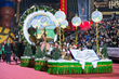 Nancy Cartwright in the Way to Happiness Float at the Hollywood Christmas Parade Encourages People to Safeguard and Improve Their Environment