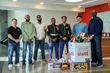 U.S. Marines Visit Law Offices of James Scott Farrin and Upcycle Legal to Receive Donation, Toys