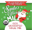 Traders Point Creamery Milk is Now Santa's Official Milk