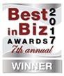 Best in Biz Awards 2017 silver winner logo