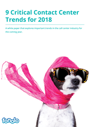 Fonolo's new white paper explores important trends in the call center industry for the coming year.