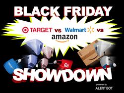 AlertBot Black Friday / Cyber Monday Showdown