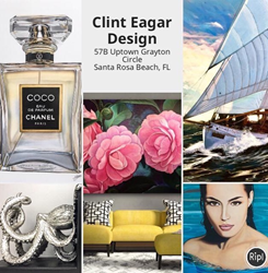 You are invited to attend Clint Eagar Design Gallery / Studio Holiday Open House located in Santa Rosa Beach, FL. Near Destin, Panama City