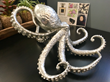 Octopus sculpture by Clint Eagar, visit Clint Eagar Design Gallery / Studio located in Santa Rosa Beach, FL 32459 | Gallery near Destin, Panama City
