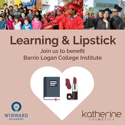 Learning & Lipstick invitation
