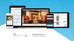 GuestCentric wins international award for the website design of Hotel Rest Plymouth