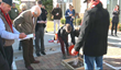 Congressman David Price Impressed by Demonstration of Permeable Pavement