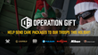 OpticsPlanet.com Launches 2nd Annual Operation Gift Campaign