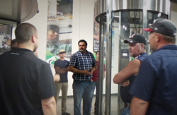 revolving doors, security entrances, perimeter protection, active shooter, preventing workplace violence, architectural entrances, turnstiles, barriers, piggybacking, tailgating, throughput, training, partner support, Roadshows, webinars