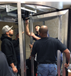 Trainees engage in hands-on, intensive training