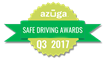 Azuga Recognizes Top Drivers & Fleet Managers with Safe Driving Awards for Q3 2017