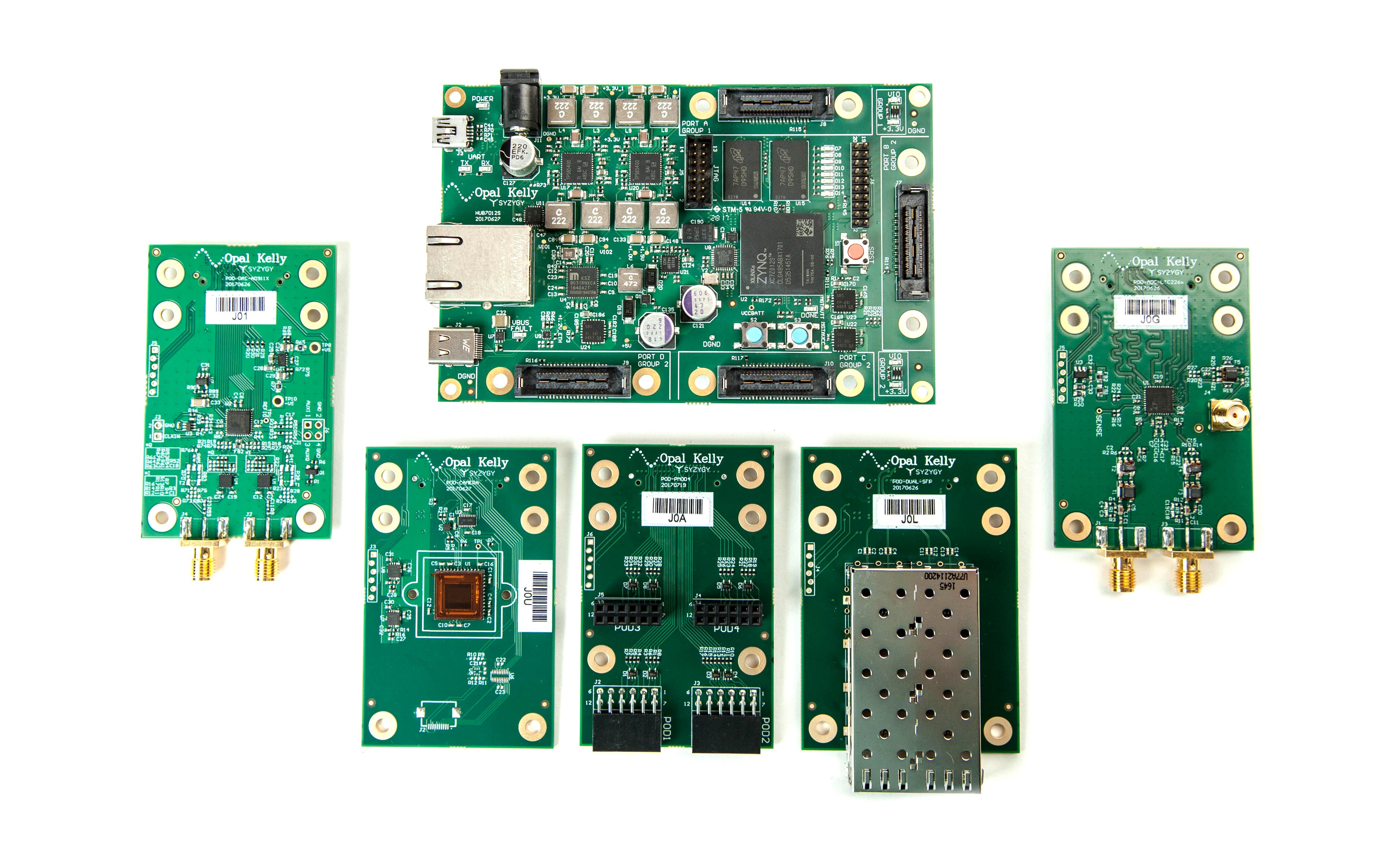 Opal Kelly Introduces SYZYGY Brain-1 - A Xilinx Zynq-based Platform