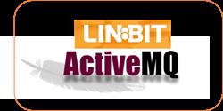 LINBIT and ActiveMQ Logos