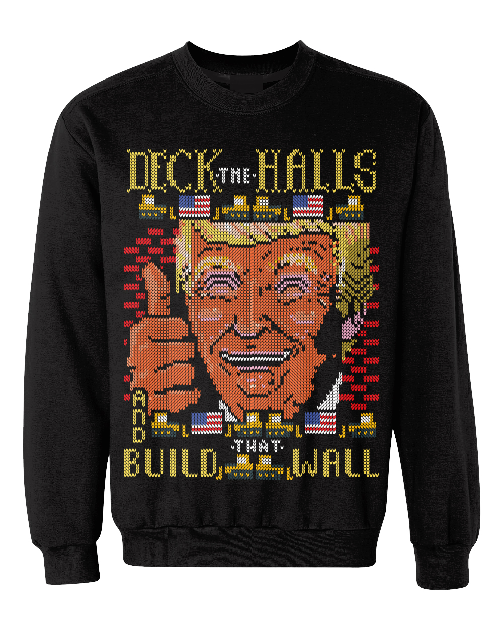 Trump-themed 'ugly Christmas sweaters' cause controversy in LA