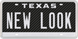 New Look Carbon Fiber Texas License Plate Released