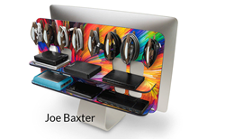 Meet the Baxters –a Family of Rear-Mounted Storage Solutions and Art for iMacs