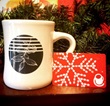 Crimson Cup Diner Mug and Gift Card