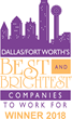 National Association for Business Resources Announces GDS Link as one of Dallas/Fort Worth's Best and Brightest Companies to Work For® Winners