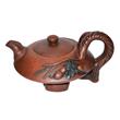 Master of Chinese Art Wang Yinxian's angled Zisha teapot. Lot 272, Gianguan Auctions.